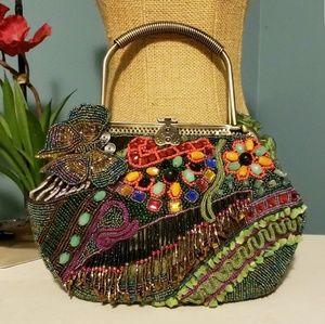 CHICOS Vintage Style Beaded Purse/Handbag